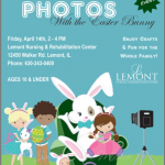 Photos With The Easter Bunny Event April 14th!
